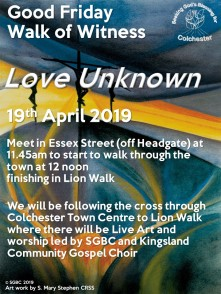 Good Friday Walk of Witness 2019